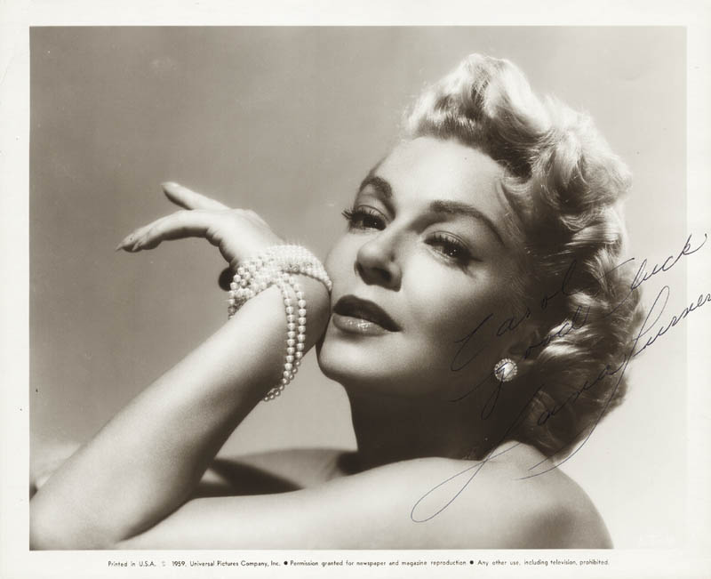 Image 1 for Lana Turner - Autographed Signed Photograph - HFSID 169268