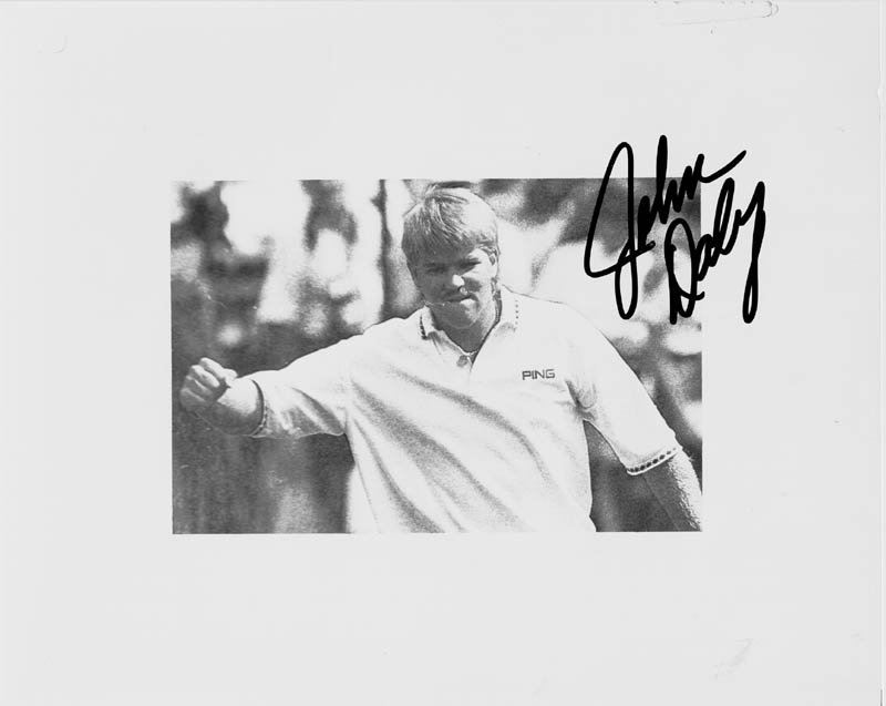 Image 1 for John Daly - Autographed Signed Photograph - HFSID 169446