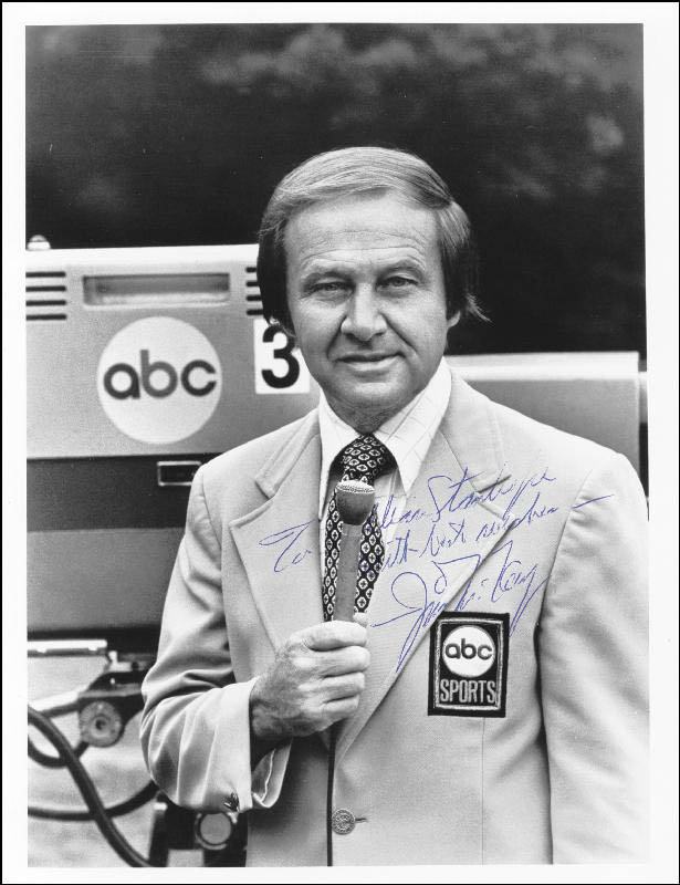 Image 1 for Jim Mckay - Autographed Signed Photograph - HFSID 169538