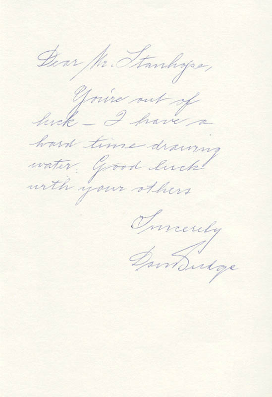 Image 1 for Don Budge - Autograph Letter Signed - HFSID 169542