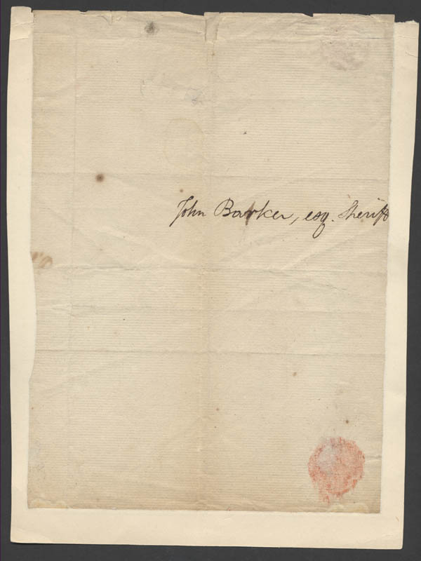 Image 3 for William J. Duane - Autograph Letter Signed 02/18/1804 co-signed by: Robert Kean - HFSID 17127