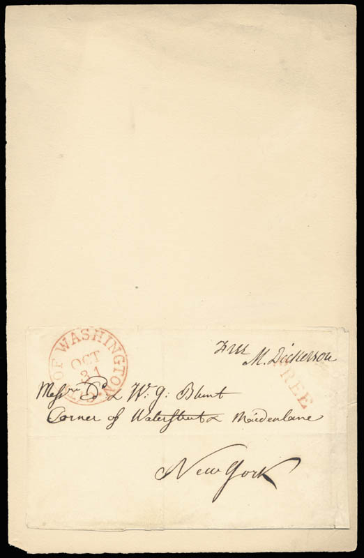Image 1 for Mahlon Dickerson - Free Frank Signed 10/31 - HFSID 17137