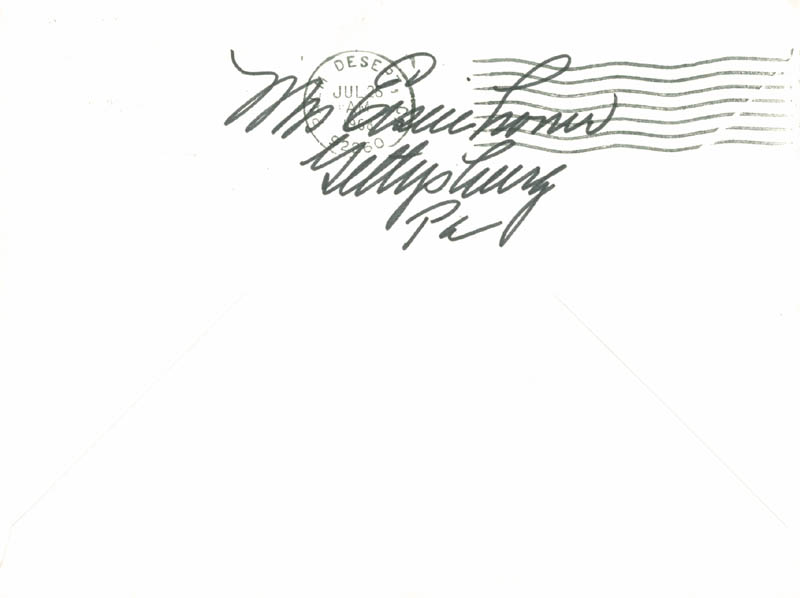 Image 4 for First Lady Mamie Doud Eisenhower - Autograph Letter Signed 07/24/1968 - HFSID 171400