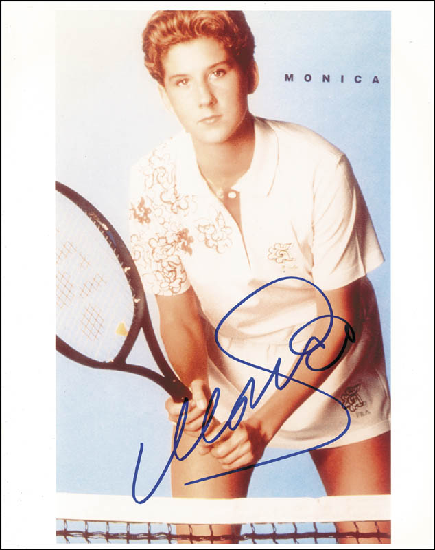Image 1 for Monica Seles - Autographed Signed Photograph - HFSID 171503