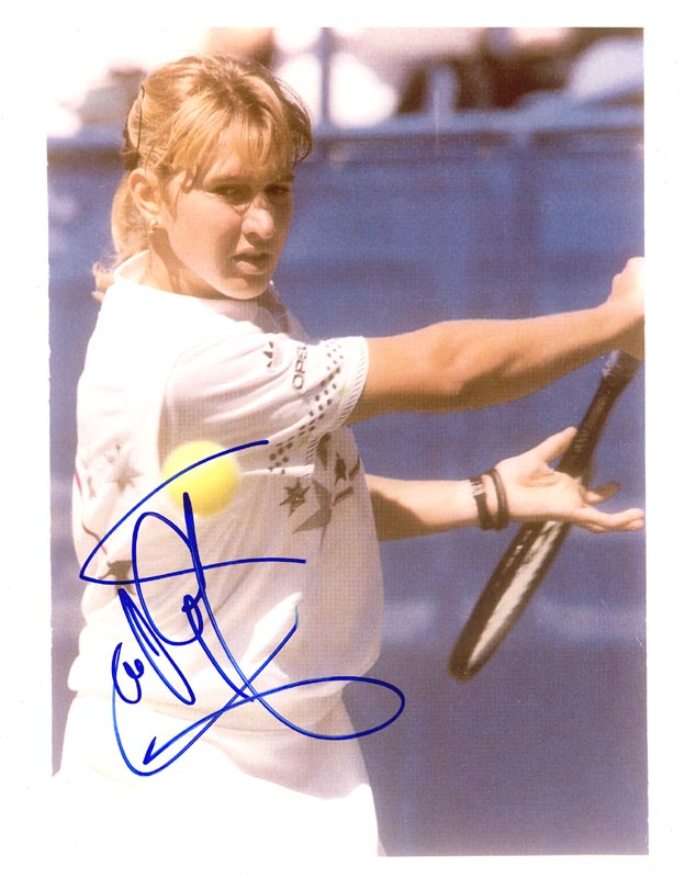 Image 1 for Steffi Graf - Autographed Signed Photograph - HFSID 171521
