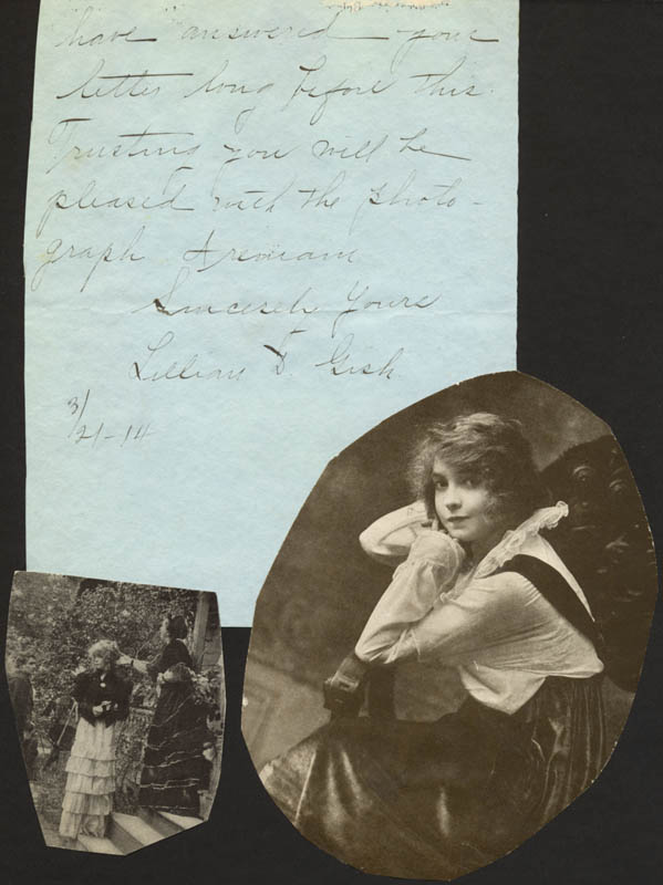 Image 1 for Lillian Gish - Autograph Letter Signed 03/21/1914 - HFSID 171571