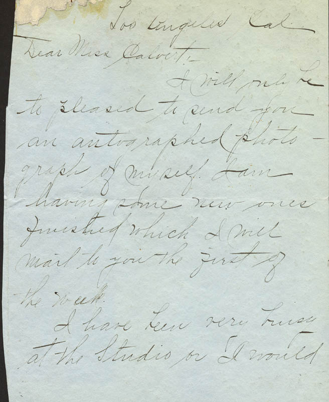 Image 3 for Lillian Gish - Autograph Letter Signed 03/21/1914 - HFSID 171571