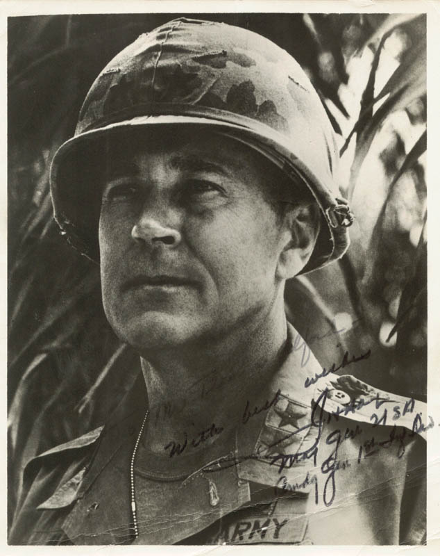 Image 1 for Lt. General John H. Hay - Autographed Inscribed Photograph - HFSID 171689