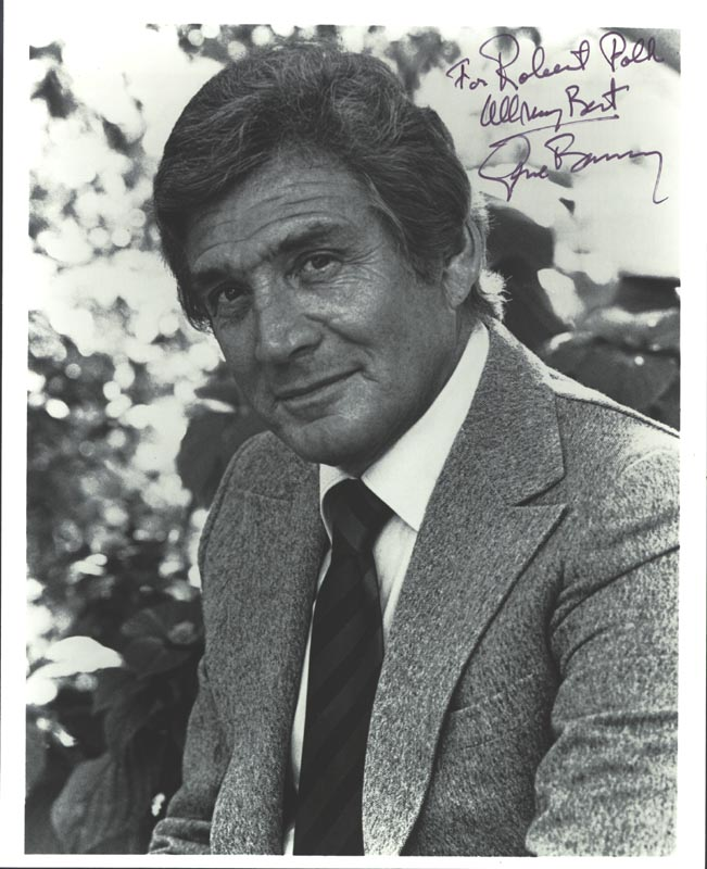Image 1 for Gene Barry - Autographed Inscribed Photograph - HFSID 1718