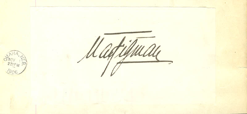 Image 1 for Max Figman - Autograph - HFSID 171911