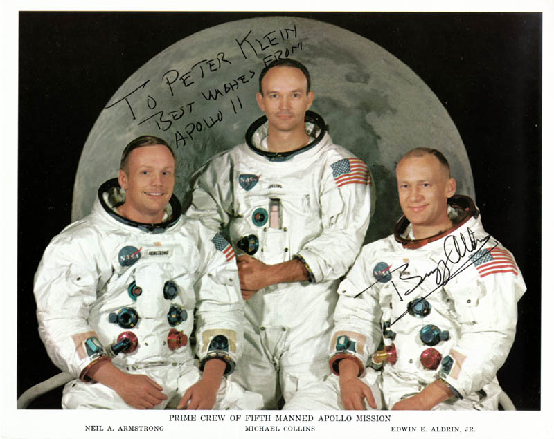 Image 1 for Colonel Buzz Aldrin - Autographed Inscribed Photograph - HFSID 171982