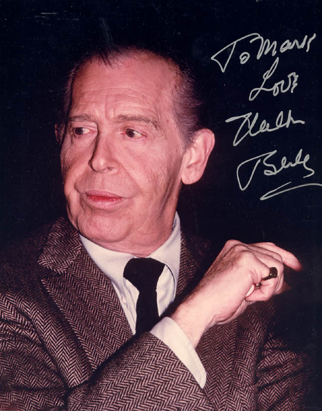 Image 1 for Milton Berle - Autographed Inscribed Photograph - HFSID 172728