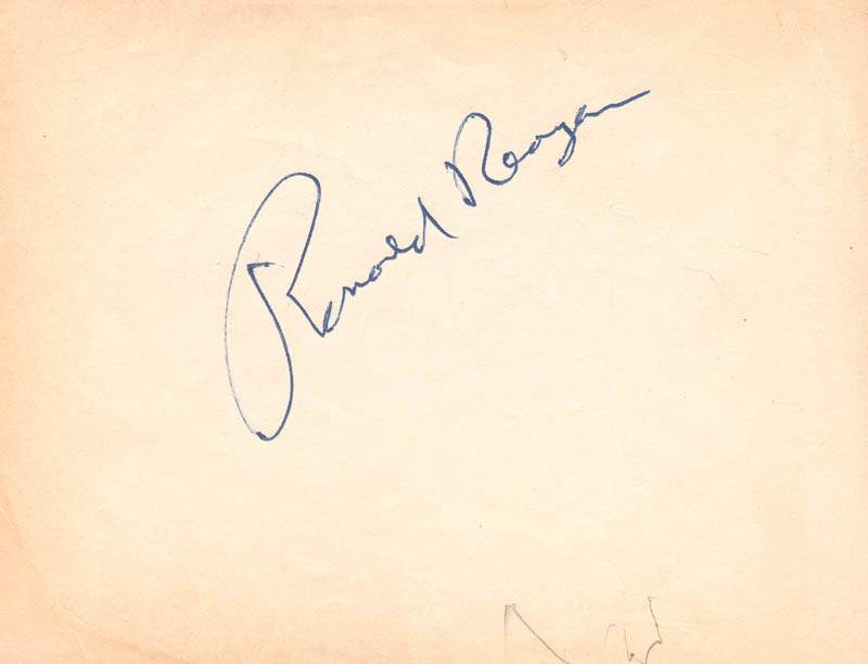 Image 3 for President Ronald Reagan - Autograph Note Double Signed - HFSID 172756