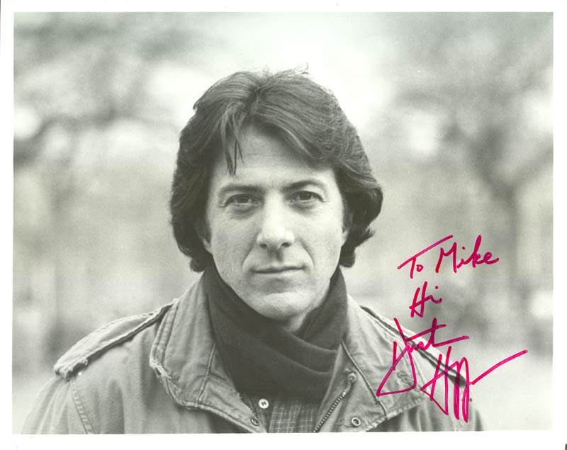 Image 1 for Dustin Hoffman - Autographed Inscribed Photograph - HFSID 1728