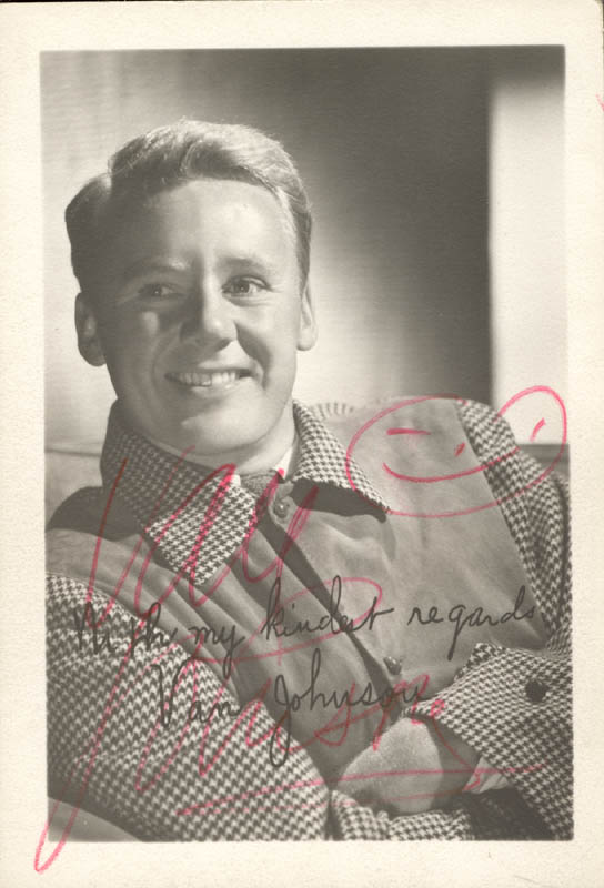 Image 1 for Van Johnson - Autographed Signed Photograph - HFSID 1733