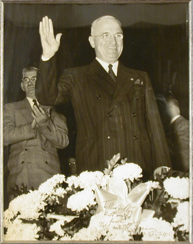Image 3 for President Harry S Truman - Autographed Inscribed Photograph 10/03/1958 - HFSID 173373