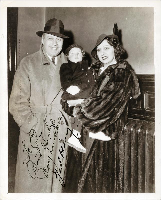 Image 1 for Jack Benny - Autographed Inscribed Photograph co-signed by: Mary (Mrs. Jack Benny) Livingstone - HFSID 174003