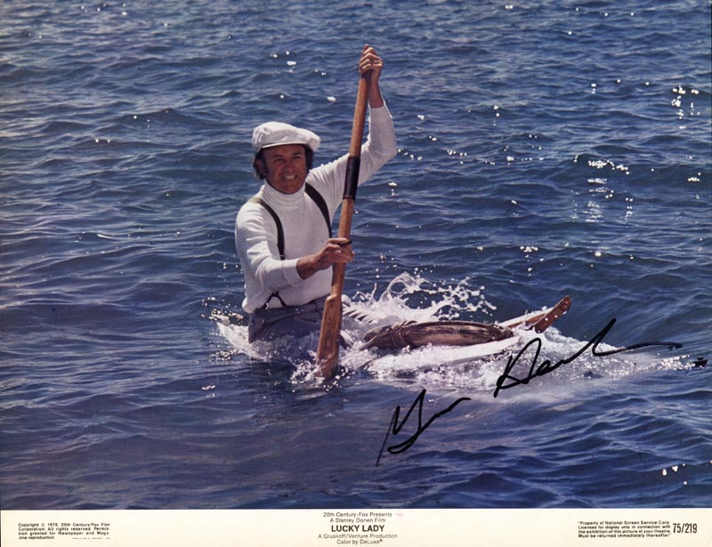 Image 1 for Gene Hackman - Lobby Card Signed - HFSID 174320