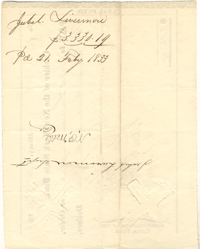 Image 3 for Major General John A. Dix - Document Signed 02/21/1833 with co-signers - HFSID 174667