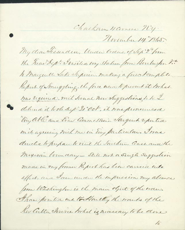 Image 3 for Colonel William A. Howard - Autograph Letter Signed 11/14/1865 - HFSID 174699