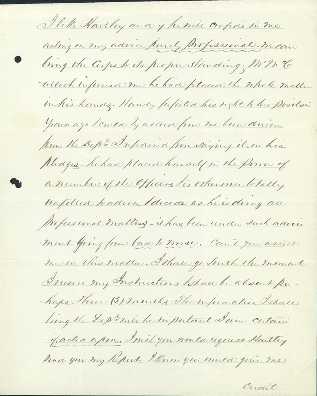 Image 5 for Colonel William A. Howard - Autograph Letter Signed 11/14/1865 - HFSID 174699