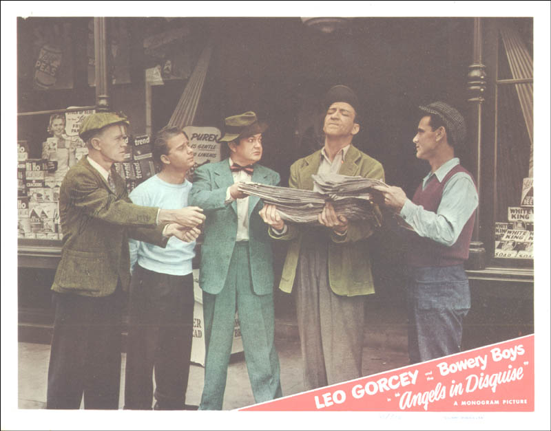 Image 1 for William 'Billy' Benedict - Lobby Card Signed - HFSID 175140