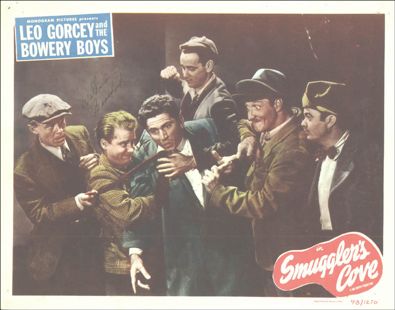 Image 1 for William 'Billy' Benedict - Lobby Card Signed - HFSID 175142