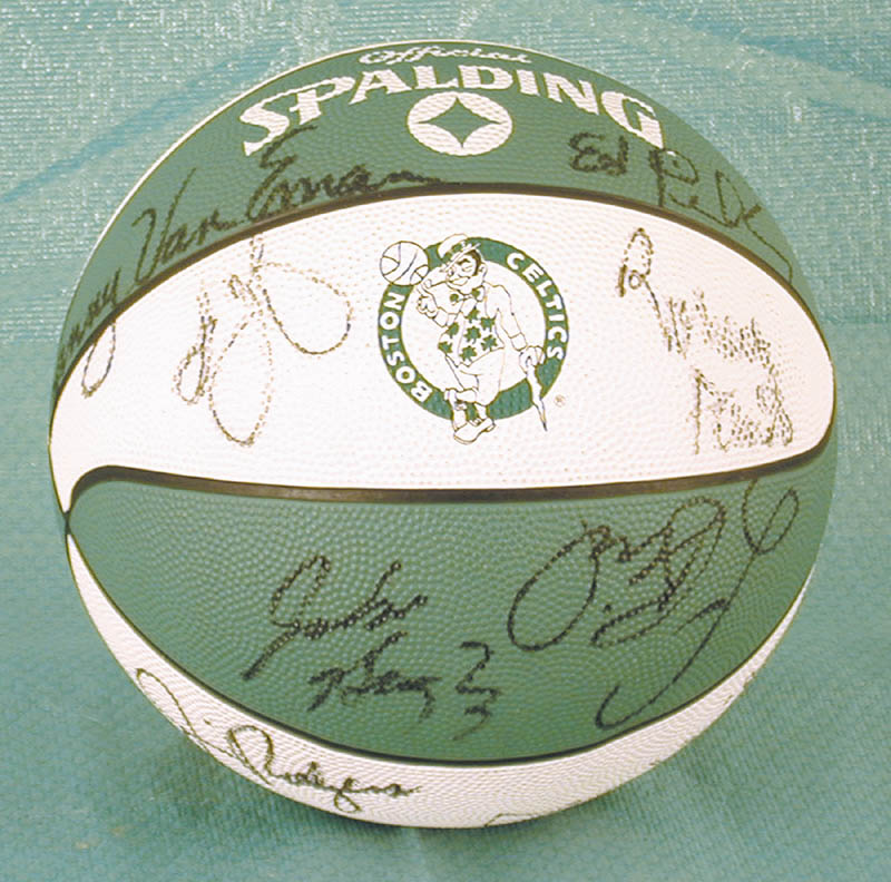 Image 1 for Boston Celtics - Basketball Signed Circa 1988 with co-signers - HFSID 175290