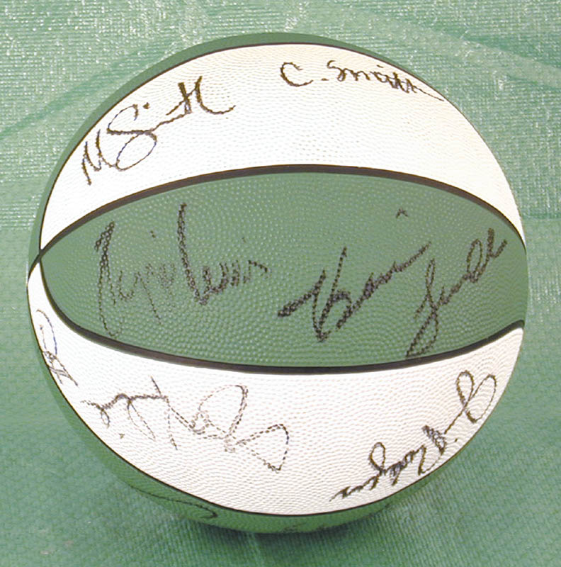 Image 3 for Boston Celtics - Basketball Signed Circa 1988 with co-signers - HFSID 175290