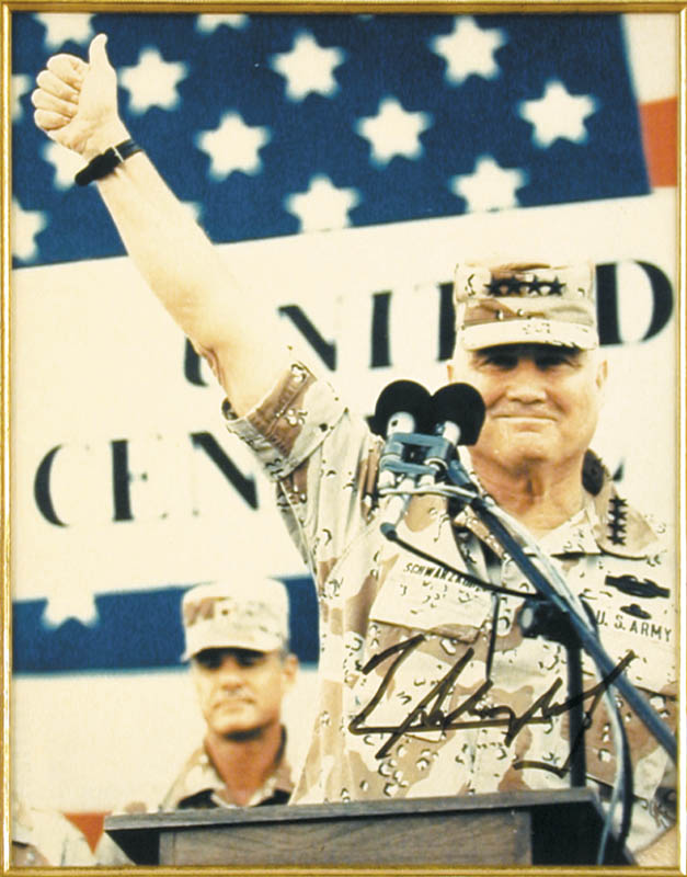 Image 3 for General H. Norman Schwarzkopf - Autographed Signed Photograph - HFSID 175343