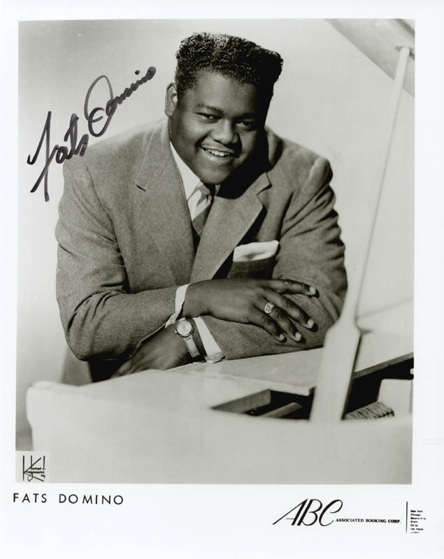 Image 1 for Fats Domino - Autographed Signed Photograph - HFSID 175345
