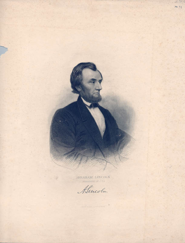 Image 1 for President Abraham Lincoln - Engraving Unsigned - HFSID 175398