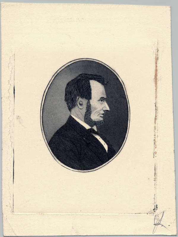 Image 1 for President Abraham Lincoln - Engraving Unsigned - HFSID 175402