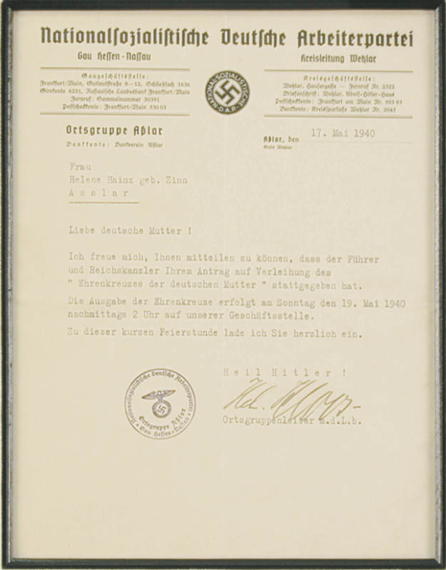 Image 4 for Adolf 'Der Fuhrer' Hitler - Document Mechanically Signed 10/01/1939 With Otto Meissner - HFSID 175510