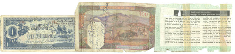 Image 1 for Jack Dempsey - Currency Signed with co-signers - HFSID 175535