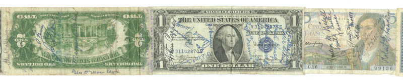 Image 3 for Jack Dempsey - Currency Signed with co-signers - HFSID 175535