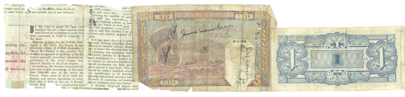 Image 6 for Jack Dempsey - Currency Signed with co-signers - HFSID 175535