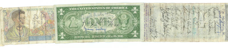 Image 7 for Jack Dempsey - Currency Signed with co-signers - HFSID 175535