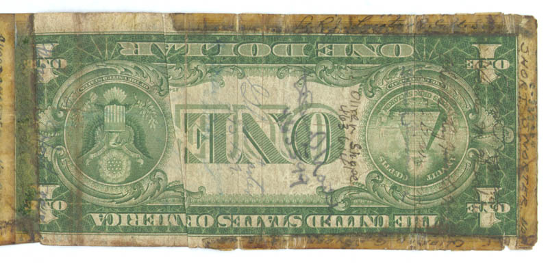 Image 9 for Jack Dempsey - Currency Signed with co-signers - HFSID 175535