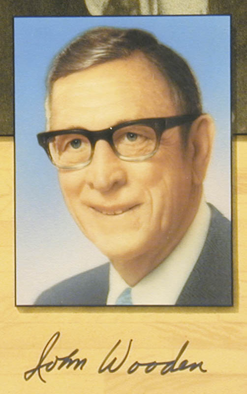 Image 4 for John Wooden - Printed Art Signed In Ink with co-signers - HFSID 175734
