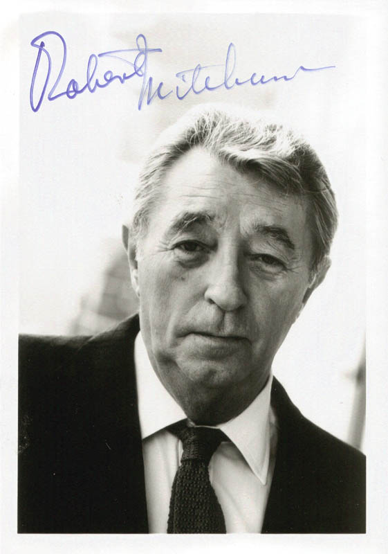 Image 1 for Robert Mitchum - Autographed Signed Photograph - HFSID 175861
