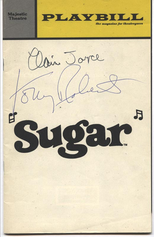Image 1 for Sugar Broadway Cast - Show Bill Signed co-signed by: Tony (Anthony) Roberts, Elaine Joyce - HFSID 175884