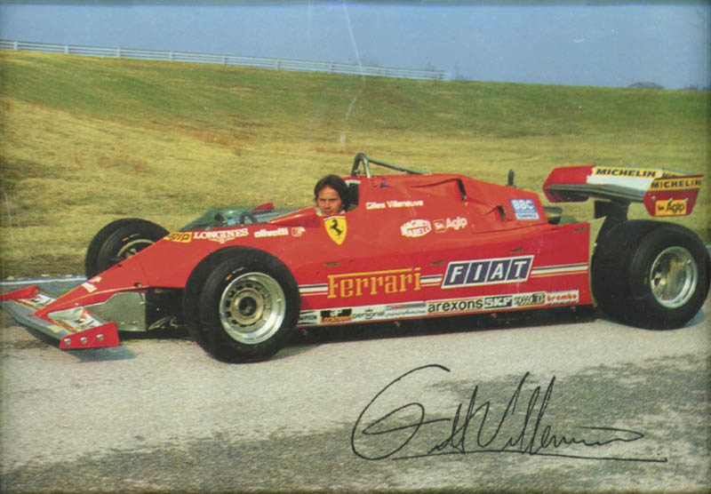 Image 4 for Enzo Ferrari - Typed Note Signed 06/14/1981 - HFSID 176139