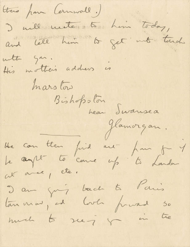 Image 3 for Dame Edith Sitwell - Autograph Letter Signed - HFSID 176155