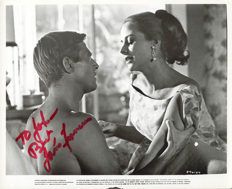 Image 1 for James Franciscus - Autographed Inscribed Photograph - HFSID 176192