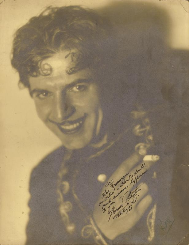 Image 1 for Warner Baxter - Autographed Inscribed Photograph 1929 - HFSID 176443