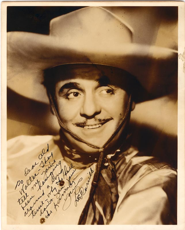 Image 1 for Leo 'Pancho' Carrillo - Autographed Inscribed Photograph - HFSID 176501