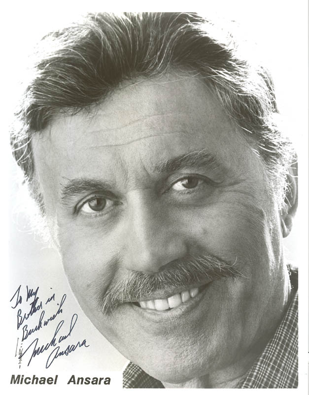 Image 1 for Michael Ansara - Autographed Inscribed Photograph - HFSID 176520