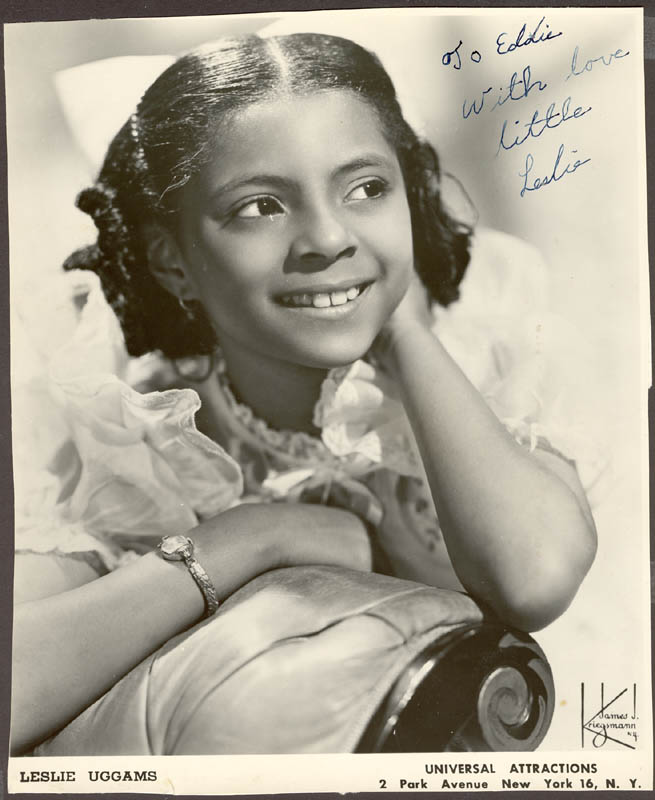 Image 1 for Leslie Uggams - Autographed Inscribed Photograph - HFSID 176546