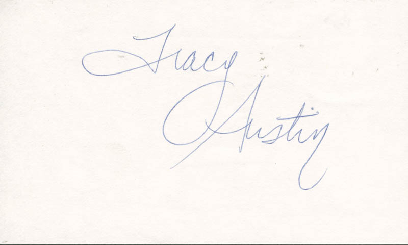 Image 1 for Tracy Austin - Autograph - HFSID 176581